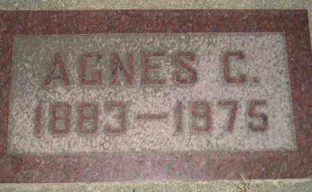 MARONEY, AGNES C. - Miner County, South Dakota | AGNES C. MARONEY - South Dakota Gravestone Photos