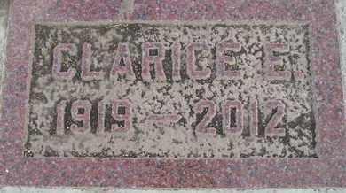 MARONEY, CLARICE E - Miner County, South Dakota | CLARICE E MARONEY - South Dakota Gravestone Photos