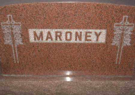 MARONEY, FAMILY STONE - Miner County, South Dakota | FAMILY STONE MARONEY - South Dakota Gravestone Photos