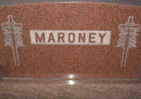 MARONEY, FAMILY STONE - Miner County, South Dakota | FAMILY STONE MARONEY - South Dakota Gravestone Photos