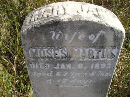 MARTIN, MARY JANE - Miner County, South Dakota | MARY JANE MARTIN - South Dakota Gravestone Photos