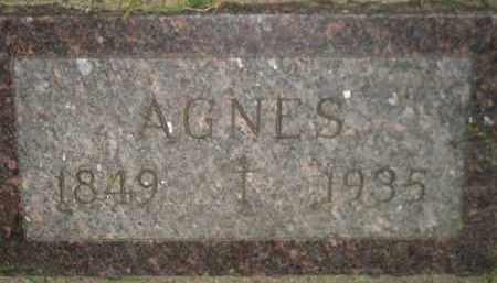 MATTHEWS, AGNES - Miner County, South Dakota | AGNES MATTHEWS - South Dakota Gravestone Photos