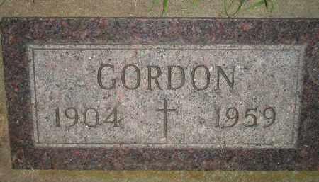 MATTHEWS, GORDON - Miner County, South Dakota | GORDON MATTHEWS - South Dakota Gravestone Photos