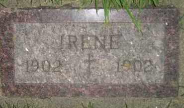 MATTHEWS, IRENE - Miner County, South Dakota   IRENE MATTHEWS - South Dakota Gravestone Photos