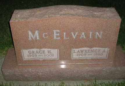 MCELVAIN, LAWRENCE A. - Miner County, South Dakota | LAWRENCE A. MCELVAIN - South Dakota Gravestone Photos