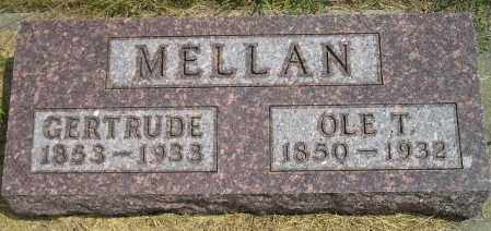 MELLAN, OLE T. - Miner County, South Dakota | OLE T. MELLAN - South Dakota Gravestone Photos