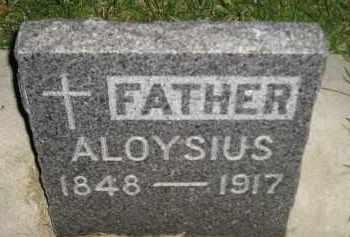 MEYER, ALOYSIUS - Miner County, South Dakota   ALOYSIUS MEYER - South Dakota Gravestone Photos