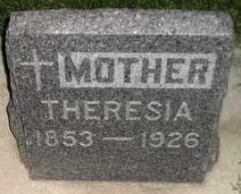 MEYER, THERESIA LEIBOLD - Miner County, South Dakota   THERESIA LEIBOLD MEYER - South Dakota Gravestone Photos