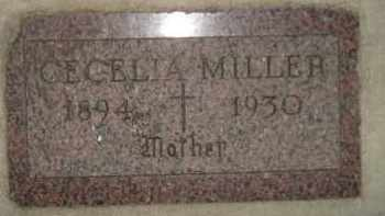MILLER, CECELIA - Miner County, South Dakota | CECELIA MILLER - South Dakota Gravestone Photos