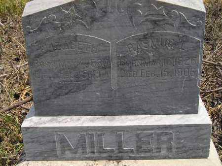 MILLER, RASMUS L. - Miner County, South Dakota | RASMUS L. MILLER - South Dakota Gravestone Photos