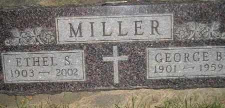 MILLER, GEORGE B. - Miner County, South Dakota | GEORGE B. MILLER - South Dakota Gravestone Photos