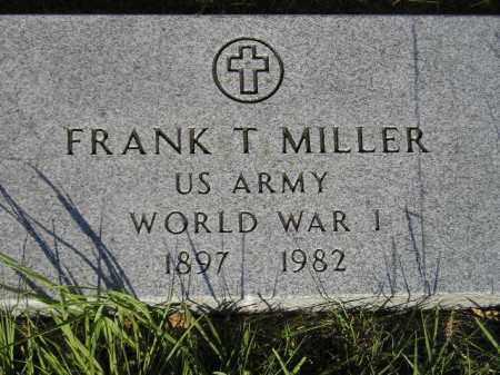 MILLER, FRANK T. - Miner County, South Dakota | FRANK T. MILLER - South Dakota Gravestone Photos