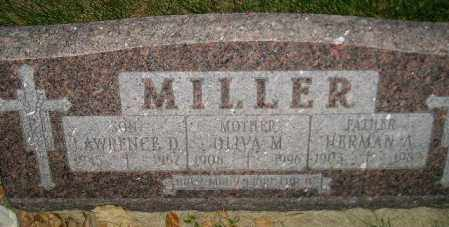 MILLER, OLIVIA M. - Miner County, South Dakota | OLIVIA M. MILLER - South Dakota Gravestone Photos