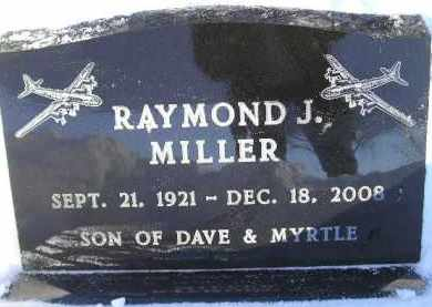 MILLER, RAYMOND J. - Miner County, South Dakota | RAYMOND J. MILLER - South Dakota Gravestone Photos