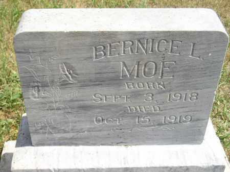 MOE, BERNICE L. - Miner County, South Dakota | BERNICE L. MOE - South Dakota Gravestone Photos