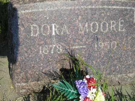 MOORE, DORA - Miner County, South Dakota | DORA MOORE - South Dakota Gravestone Photos