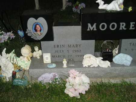 MOORE, ERIN MARY - Miner County, South Dakota   ERIN MARY MOORE - South Dakota Gravestone Photos