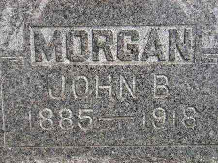 MORGAN, JOHN B. - Miner County, South Dakota | JOHN B. MORGAN - South Dakota Gravestone Photos
