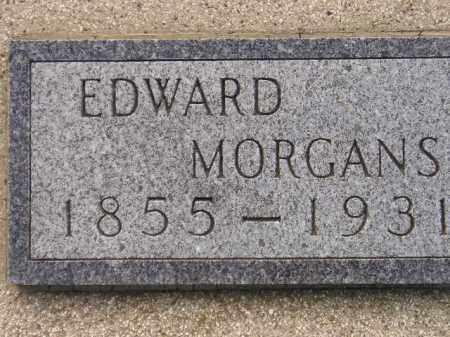 MORGANS, EDWARD - Miner County, South Dakota   EDWARD MORGANS - South Dakota Gravestone Photos