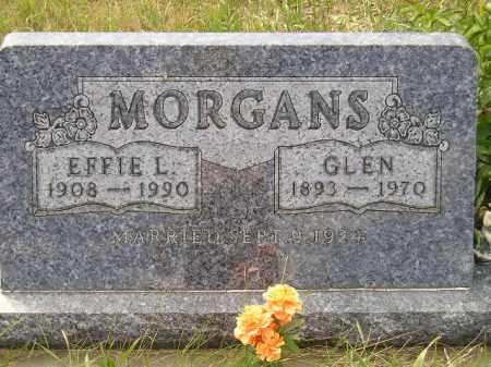 MORGANS, GLEN - Miner County, South Dakota | GLEN MORGANS - South Dakota Gravestone Photos