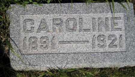 MORRIS, CAROLINE - Miner County, South Dakota   CAROLINE MORRIS - South Dakota Gravestone Photos