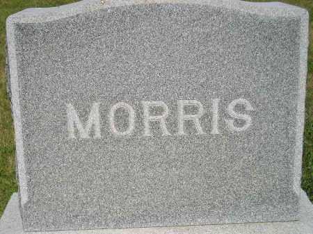 MORRIS, FAMILY STONE - Miner County, South Dakota | FAMILY STONE MORRIS - South Dakota Gravestone Photos
