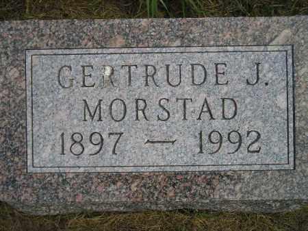 MORSTAD, GERTRUDE J. - Miner County, South Dakota | GERTRUDE J. MORSTAD - South Dakota Gravestone Photos