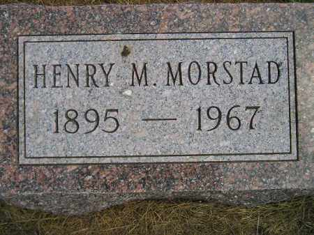 MORSTAD, HENRY M. - Miner County, South Dakota | HENRY M. MORSTAD - South Dakota Gravestone Photos