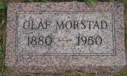 MORSTAD, OLAF - Miner County, South Dakota | OLAF MORSTAD - South Dakota Gravestone Photos