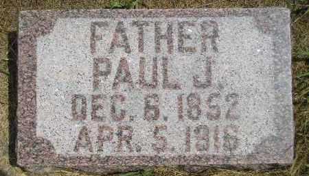 MORSTAD, PAUL J. - Miner County, South Dakota | PAUL J. MORSTAD - South Dakota Gravestone Photos