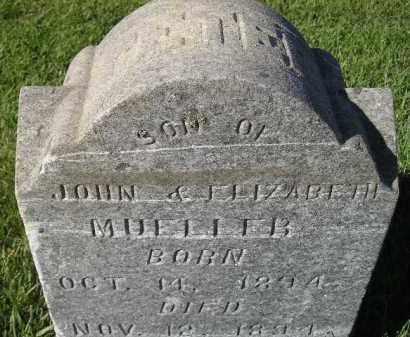 MUELLER, PETER - Miner County, South Dakota | PETER MUELLER - South Dakota Gravestone Photos