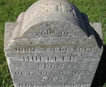 MUELLER, PETER - Miner County, South Dakota   PETER MUELLER - South Dakota Gravestone Photos