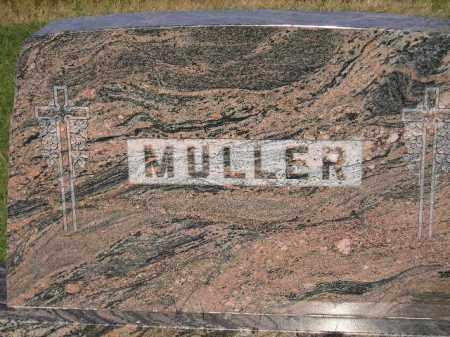 MULLER, FAMILY STONE - Miner County, South Dakota | FAMILY STONE MULLER - South Dakota Gravestone Photos