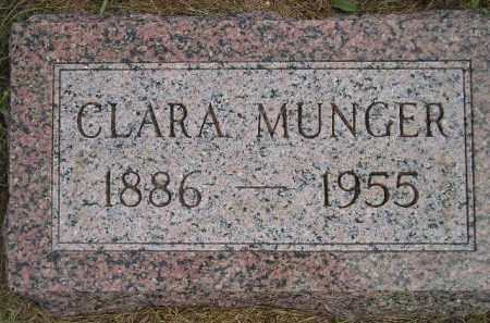 MUNGER, CLARA - Miner County, South Dakota | CLARA MUNGER - South Dakota Gravestone Photos