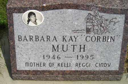 MUTH, BARBARA KAY - Miner County, South Dakota | BARBARA KAY MUTH - South Dakota Gravestone Photos