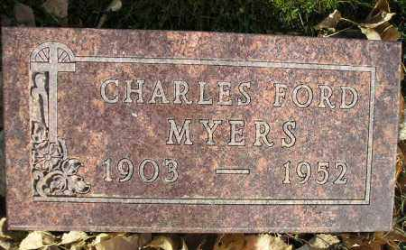 MYERS, CHARLES FORD - Miner County, South Dakota | CHARLES FORD MYERS - South Dakota Gravestone Photos