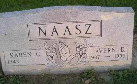 NAASZ, LAVERN D. - Miner County, South Dakota | LAVERN D. NAASZ - South Dakota Gravestone Photos