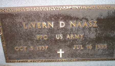 NAASZ, LAVERN D. (MILITARY) - Miner County, South Dakota | LAVERN D. (MILITARY) NAASZ - South Dakota Gravestone Photos