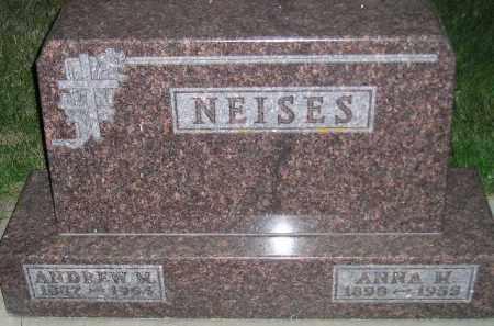 KAISER NEISES, ANNA MARIE - Miner County, South Dakota | ANNA MARIE KAISER NEISES - South Dakota Gravestone Photos