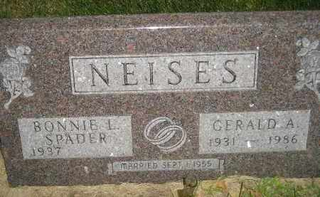 SPADER NEISES, BONNIE L. - Miner County, South Dakota | BONNIE L. SPADER NEISES - South Dakota Gravestone Photos