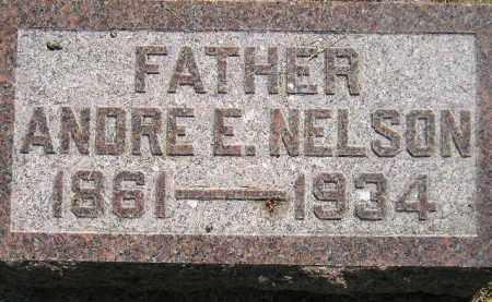 NELSON, ANDRE E. - Miner County, South Dakota   ANDRE E. NELSON - South Dakota Gravestone Photos