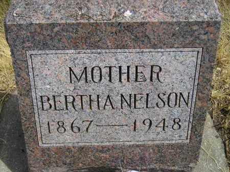 NELSON, BERTHA - Miner County, South Dakota | BERTHA NELSON - South Dakota Gravestone Photos