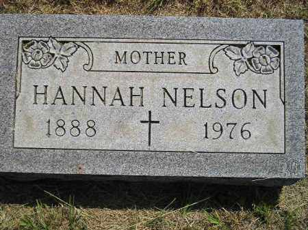 NELSON, HANNAH - Miner County, South Dakota | HANNAH NELSON - South Dakota Gravestone Photos