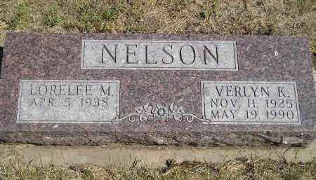NELSON, VERLYN K. - Miner County, South Dakota | VERLYN K. NELSON - South Dakota Gravestone Photos