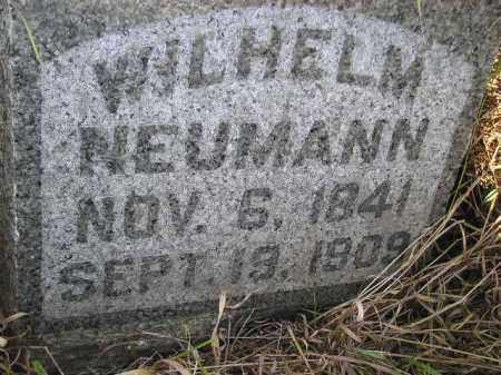 NEUMANN, WILHELM - Miner County, South Dakota | WILHELM NEUMANN - South Dakota Gravestone Photos