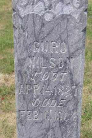 NILSON, GURO - Miner County, South Dakota | GURO NILSON - South Dakota Gravestone Photos