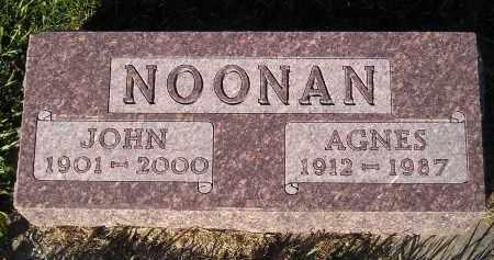 NOONAN, AGNES - Miner County, South Dakota | AGNES NOONAN - South Dakota Gravestone Photos