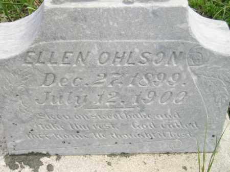 OHLSON, ELLEN - Miner County, South Dakota | ELLEN OHLSON - South Dakota Gravestone Photos