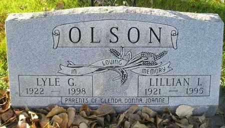 OLSON, LYLE G. - Miner County, South Dakota | LYLE G. OLSON - South Dakota Gravestone Photos