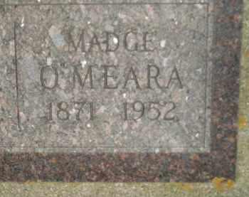 O'MEARA, MADGE - Miner County, South Dakota | MADGE O'MEARA - South Dakota Gravestone Photos